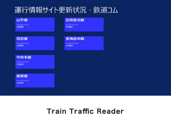 Train Traffic Reader